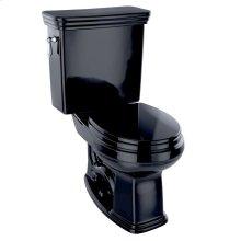 Eco Promenade® Two-Piece Toilet, 1.28 GPF, Round Bowl - Ebony