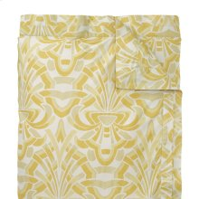 Axelle Duvet Cover & Shams, Gold, Full/queen