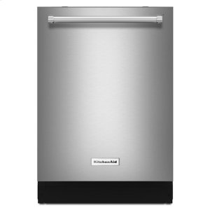 KitchenaidKitchenAid® 46 DBA Dishwasher with Third Level Rack, Bottle Wash and PrintShield™ Finish - PrintShield Stainless