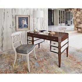 Firenze Writing Desk - Walnut / Shagreen