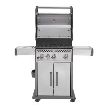 Rogue® 425 with Infrared Side Burner in Stainless Steel
