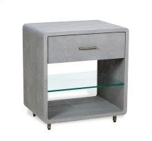 Calypso Bedside Chest - Grey