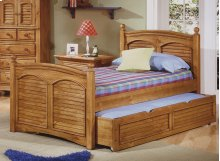 Twin Poster Bed,also Available In Full Size