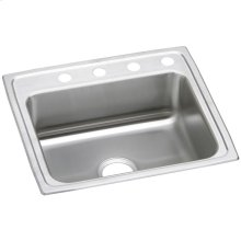 """Elkay Celebrity Stainless Steel 25"""" x 22"""" x 7-1/2"""", Single Bowl Drop-in Sink"""