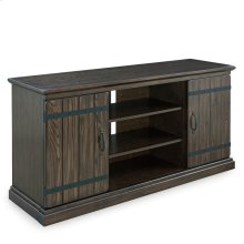 "Hunt Club Rustic Oak 55"" TV Console #89550"