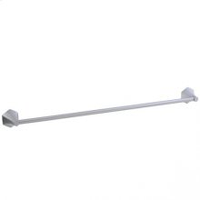 "Hexa - Towel Bar 24"" - Polished Chrome"