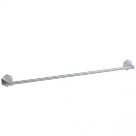 "Hexa - Towel Bar 24"" - Brushed Nickel"
