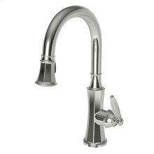 Polished Nickel - Natural Pull-down Kitchen Faucet
