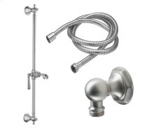 Slide Bar Handshower Kit - Lever Handle With Hex Base