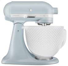 Limited Edition Heritage Artisan® Series Model K 5 Quart Tilt-Head Stand Mixer with numbered trimband - Misty Blue