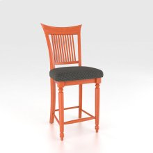 Fixed Barstool 24""