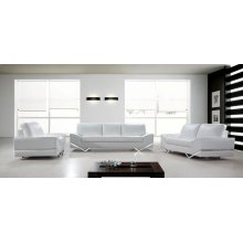 Divani Casa Vanity - White Modern Sofa Set