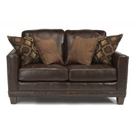 Port Royal Leather Loveseat Product Image