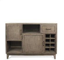 Vogue Console Sideboard Gray Wash finish