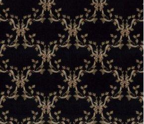Ashton House Ribbon Trellis A01f Black-b 13'