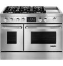 JENN-AIR CANADA Pro-Style® Dual-Fuel Range with Griddle and MultiMode® Convection, 48
