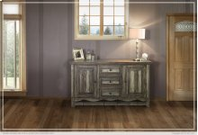 Console w/3 Drawers & 2 Doors