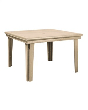"""T10 47"""" Square Dining Table"""