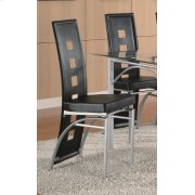 Los Feliz Contemporary Black Dining Chair Product Image