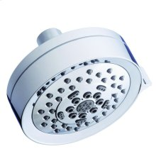 "Chrome Parma® 4 1/2"" 5-Function Showerhead, 2.5gpm"