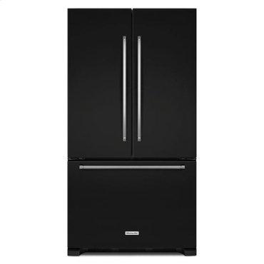KitchenAid® 22 cu. ft. 36-Inch Width Counter Depth French Door Refrigerator with Interior Dispense - Black