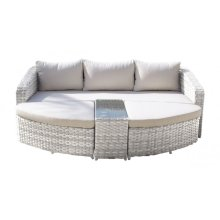Santorini 4 PC Daybed Set w/cushion