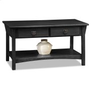 Mission Two Drawer Coffee Table 10055-SL Product Image