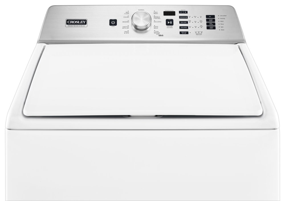 Zaw47115gw Crosley Crosley Professional Washer White White Apartment Supply By Feder S Distributors