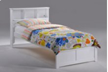 Butterscotch Bed in White Finish