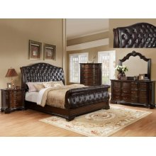 Crown Mark B1100 Sheffield Sleigh Queen Bedroom