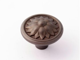 Fiore Knob A1472 - Chocolate Bronze