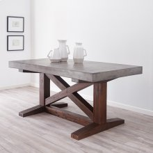 NativeStone® Trestle Table