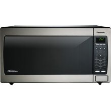 REFURBISHED 1.6 Cu. Ft. Built-In/Countertop Microwave Oven with Inverter Technology - Stainless Steel - NN-SN778S-RF