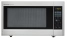 2.2 cu. ft. 1200W Sharp Stainless Steel Carousel Countertop Microwave Oven (R-651ZS) Product Image