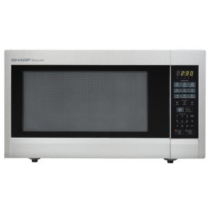 Sharp2.2 cu. ft. 1200W Sharp Stainless Steel Carousel Countertop Microwave Oven