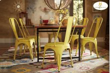 Metal Chair, Yellow