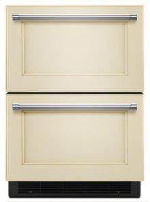 "24"" Stainless Steel Refrigerator/Freezer Drawer - Panel Ready"