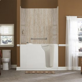 Gelcoat Premium Series 30x52-inch Soaking Walk-In Bathtub  American Standard - Linen