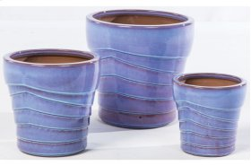 Wavelength Planter - Set of 3