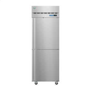 HoshizakiR1A-HS, Refrigerator, Single Section Upright, Half Stainless Doors with Lock