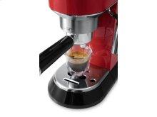 Dedica Manual Espresso Machine - EC680 - Red