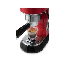 Dedica Manual Espresso Machine - EC680 - Red