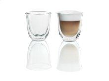 De'Longhi Cappuccino Cups - Set of 2 Glasses - DBWALLCAPP