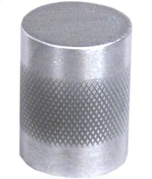 "Diamond Knurl Knob 1"" diameter - Satin Chrome"