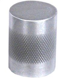 """Diamond Knurl Knob 1"""" diameter - Satin Chrome"""