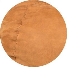 Cover for Pillow Pod or Footstool - Faux Leather - Cognac