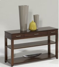 Sofa/Console Table - Regal Walnut Finish Product Image