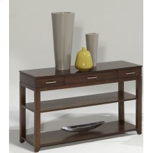 Sofa/Console Table - Regal Walnut Finish