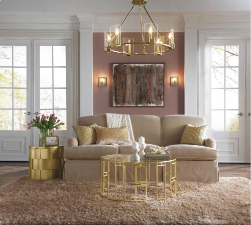Signata Collection Signata 6 Light Chandelier in Classic Pewter CLP