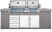 Built-In Prestige PRO 825 RBI Stainless Steel with Infrared Rear and Bottom Burners